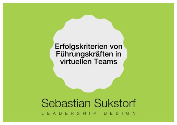 Erfolgskriterien von Führungskräften in virtuellen Teams