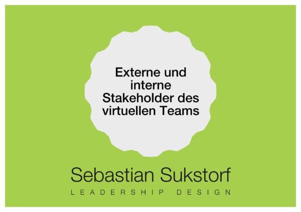Externe und interen Stakeholder